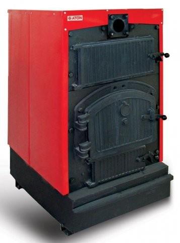 Котлы твердотопливные чугунные ATON , мощность 120-240 кВт .