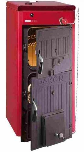Котлы твердотопливные FB D Секционный одноходовой теплообменник из высококачественного чугуна. Мощность: 16-34 кВт