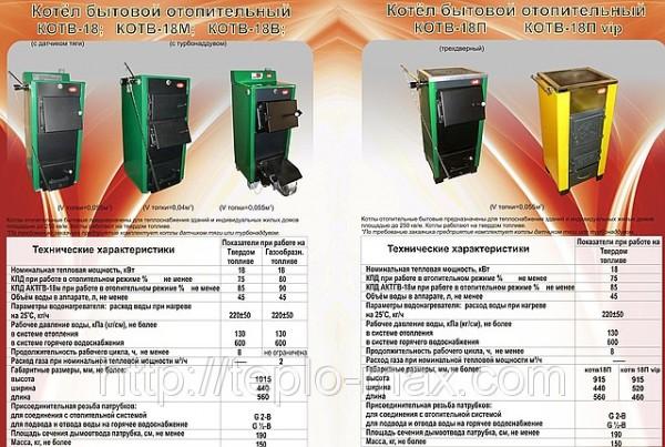 Котлы твердотопливные разных моделей и мощностей доставка в Кировоград и область, Гайворон, Бобринец
