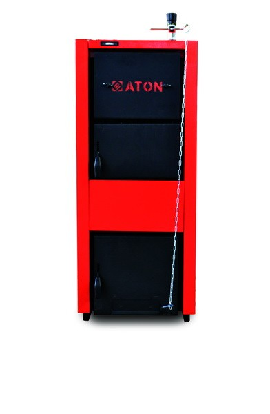 Котлы твердотопливные стальные ATON , мощность 8-50 кВт .