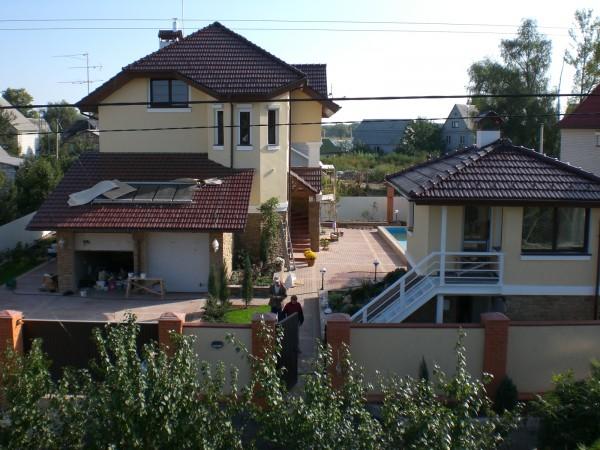 Коттедж в поселке Козин, весь комплекс строительных и отделочных работ