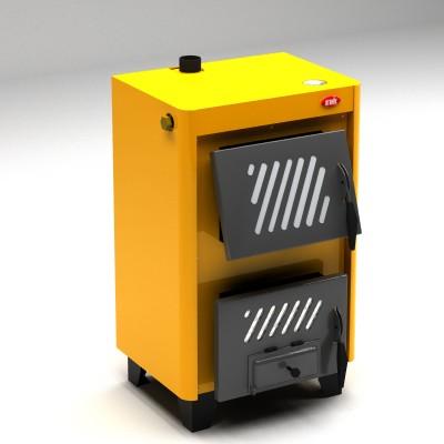 КОТВ-14. Котел отопительный твердотопливный предназначен для отопления зданий и жилых домов площадью до 140 кв. м.