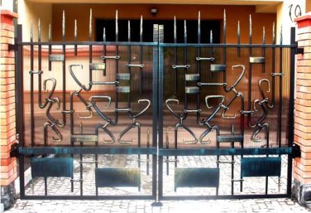 кована брама кованый забор