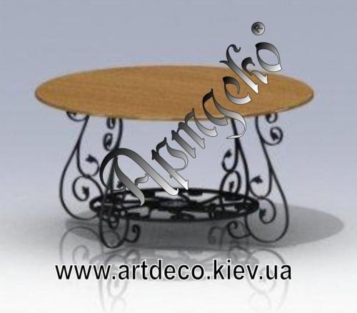 Кованая мебель. Индивидуальная разработка по проекту заказчика бесплатно