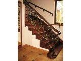Фото 2 Кованые перила для лестницы, крыльца, уличные, в доме, на балкон Фото 336395