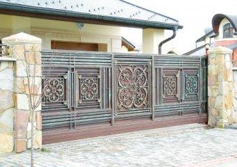Фото 2 Кованые ворота и калитки - фото, цены. Купить от производителя Украина 336393