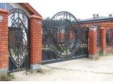 Фото 1 Кованые ворота и калитки - фото, цены. Купить от производителя Украина 336393