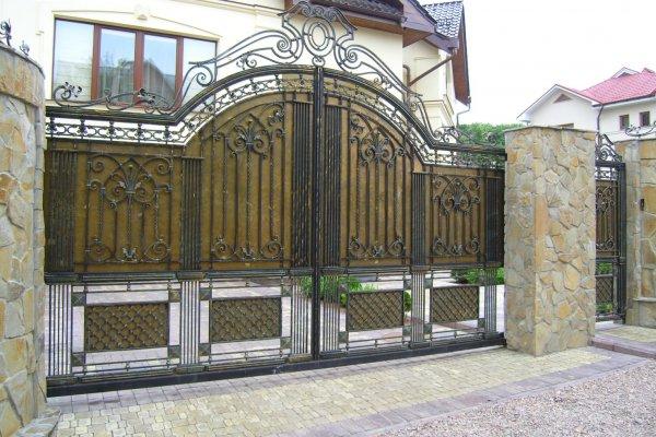 Фото 4 Кованые ворота и калитки - фото, цены. Купить от производителя Украина 336393