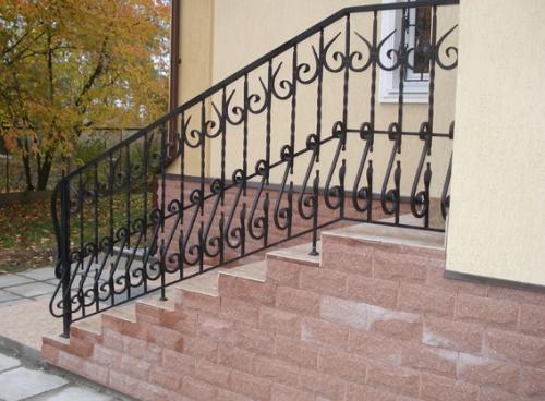 Кованые изделия в Киеве: ворота, калитки, ограждения лестниц, балконов, решетки. Доступные цены!