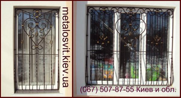 кованые решетки на окна, другая ковка, варианты дизайна