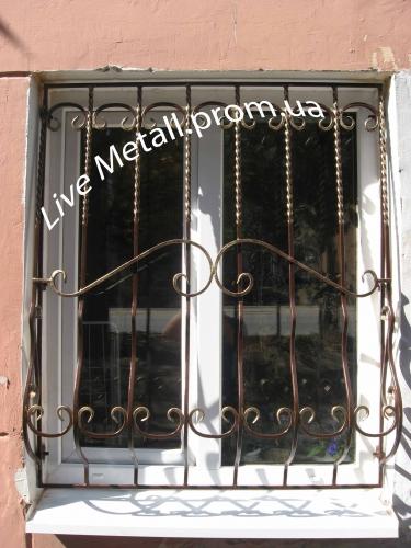 Кованые решетки, решетчатые двери. Доставка и установка.