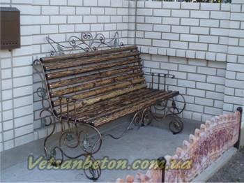 Кованые скамейки, кованая мебель