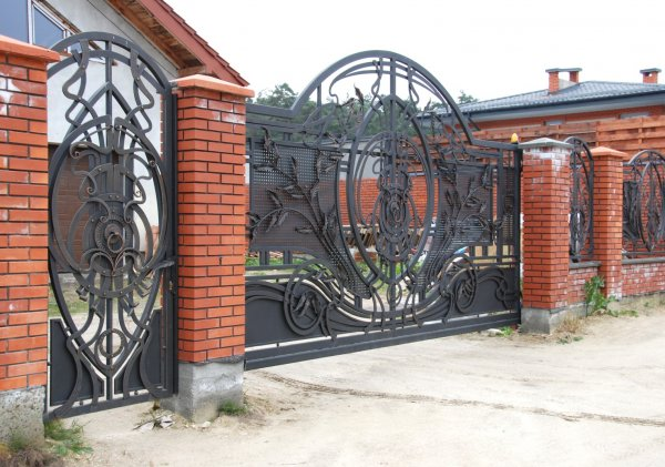 Фото  1 Кованые ворота 2007532