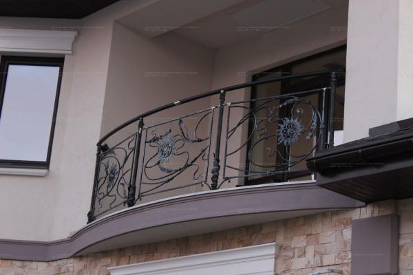 Кованые заборы и ограждения любого типа сложности в Днепропетровске и Украине под заказ.