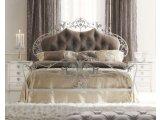 Фото  1 Кованная кровать с мягким изголовьем 1895274