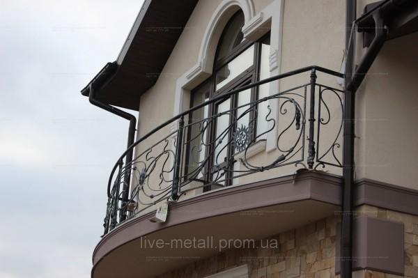 Кованные ограждения для балконов