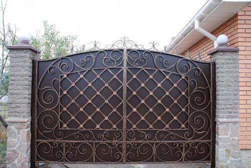 Кованные ворота. Любой сложности!