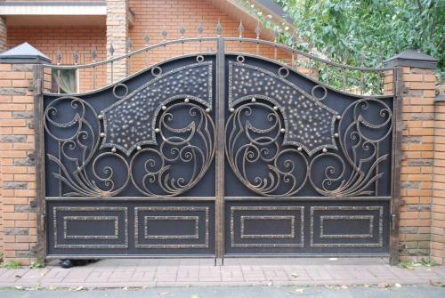 Кованные ворота. Любой вид сложности!