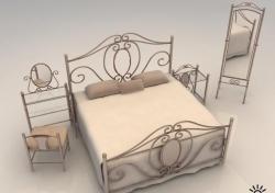 Кованные железные кровати , отличный метал. , превосходный дизайн, масса вариантов отделки и покраски, матрасы любые