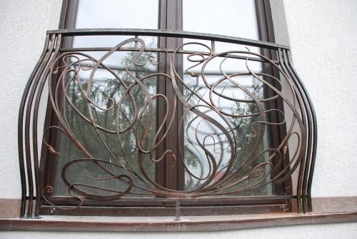 Кованный балкон. Любой вид сложности.