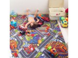 Фото  9 Ковер дорога в детскую комнату для мальчика Биг Сити 2939272