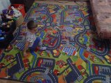 Фото  6 Ковер дорога в детскую комнату для мальчика Смарт Сити 2634448