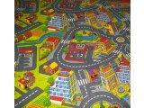 Фото  10 Ковер дорога в детскую комнату для мальчика Смарт Сити 21034448