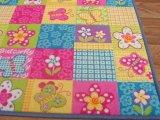 Фото  7 Ковер в цветочек в детскую Батерфляй 2734463
