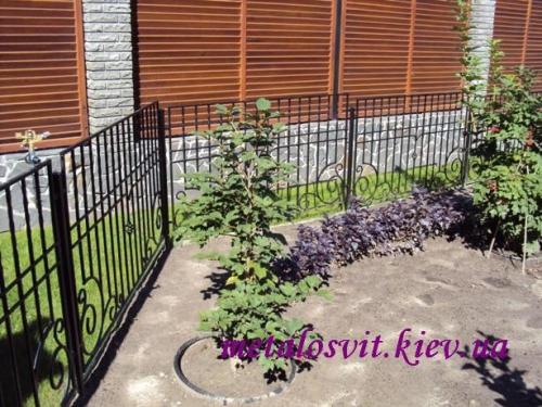 ковка заборы и садовые ограждения