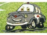 Фото  7 Коврик детский Гонки 2735026
