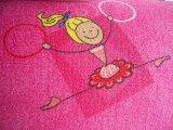 Фото  9 Коврик в детскую комнату для девочки Хеппи 447 2934493