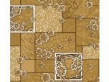 Фото  2 Ковролин для дома Лилия коричневый на войлочной основе цветной 2234642
