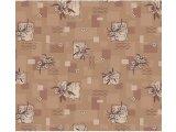Фото  1 Ковролин для дома Лилия коричневый на войлочной основе цветной 2000 2134643