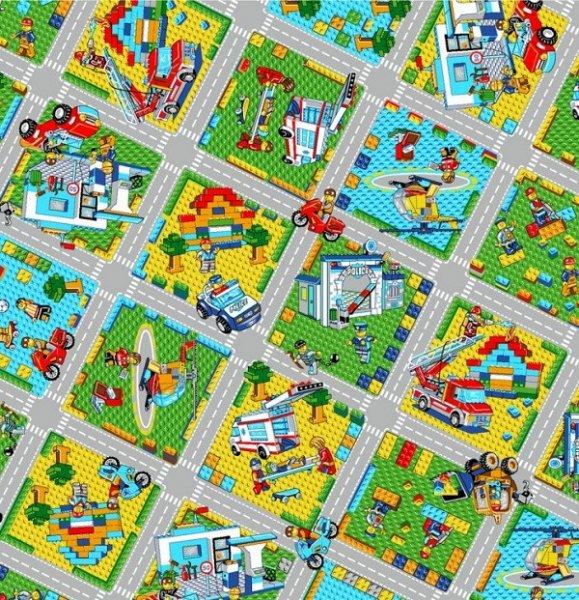 Фото  1 Ковролин в детскую комнату Конструктор 2000 2134993