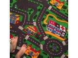 Фото  2 Ковролин в детскую Сити Лайф Сити Лайф, Серо-зеленый, 2.5 м 2234225