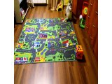 Фото  5 Ковролин в детскую Сити Лайф Сити Лайф, Серо-зеленый, 5.5 м 2534525