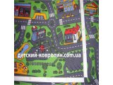 Фото  8 Ковролин в детскую Сити Лайф Сити Лайф, Серо-зеленый, 8.5 м 2834825