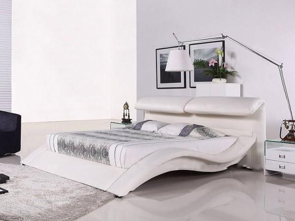 Кожаная кровать Надежда