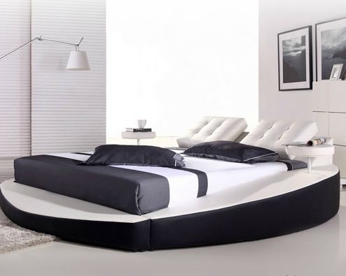 Кожаная кровать Свобода с аудио возможностями и беспроводной связью
