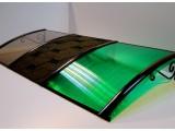Козырек из поликарбоната 1200*1500 мм