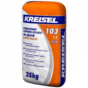 Крайзель 103 Супермульти усиленный клей для плитки Kreisel 103 Supermulti, 25 кг