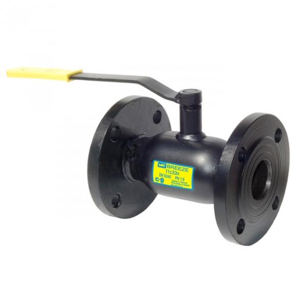 Кран шаровый Breeze 11с33п Ду200/150