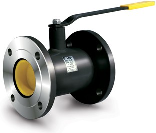 Кран шаровый LD КШ. Ц. Ф.065.016. п/п.02 - фланцевый, полнопроходной для газа и воды и др. (Челябинск).