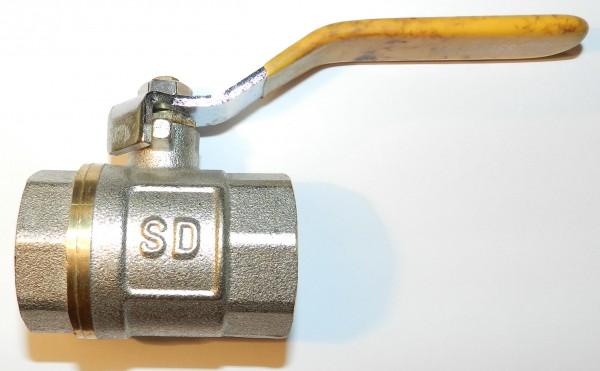 Кран шаровый S. D. в/в 50 (ручка) газ