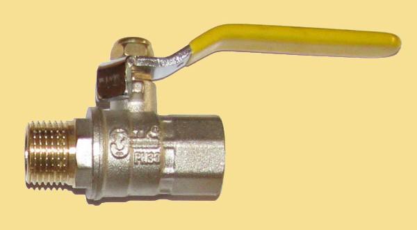 Кран шаровый Т. К. в/н 25 (ручка) газ