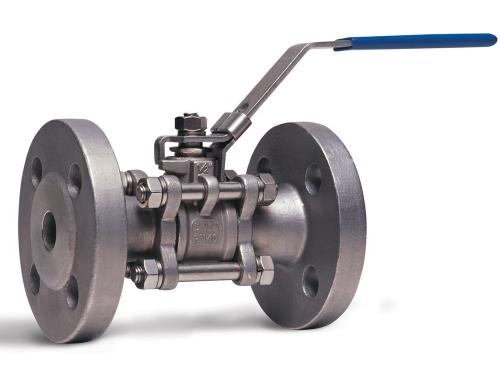 Кран шаровой фланцевый из н/ж стали, трехсоставной, Ру40, Ду15-200, нерж. сталь AISI304, 316