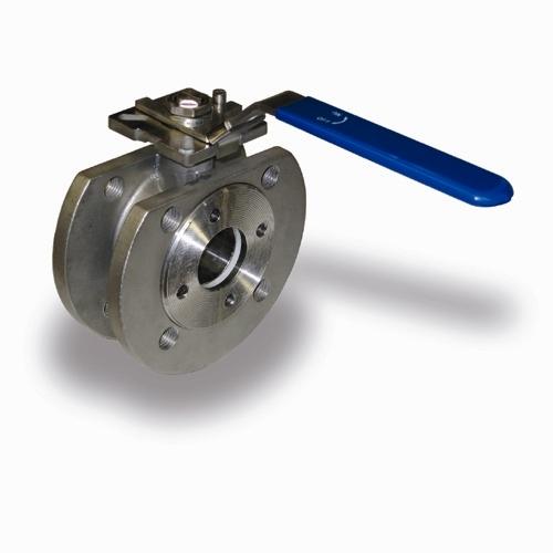 Кран шаровой фланцевый из нерж стали моноблок Ду15-200, Ру16, н/ж сталь AISI304, 316