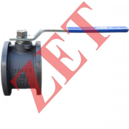 Кран шаровой стальной фланцевый для воды, пара и газа Ду20