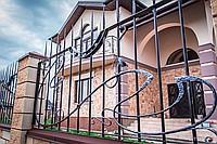 Красивые кованые ограды под заказ в Днепропетровске и в Украине