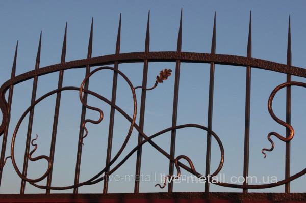 Красивые кованые ограждения под заказ в Днепропетровске и в Украине